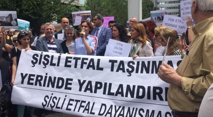 """""""ŞİŞLİ ETFAL KAPATILMASIN"""""""