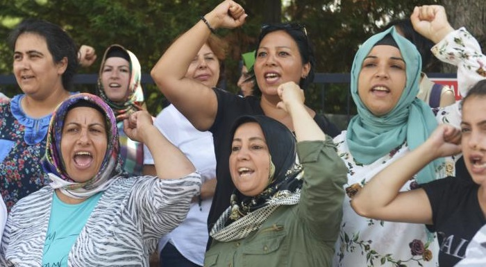 CHP'Lİ KAFTANCIOĞLU'NDAN FLORMAR DİRENİŞİ'NE DESTEK ZİYARETİ