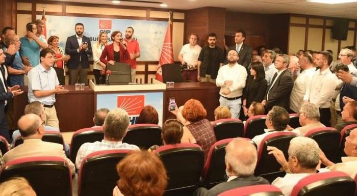 CHP İSTANBUL'DA BAYRAMLAŞMA