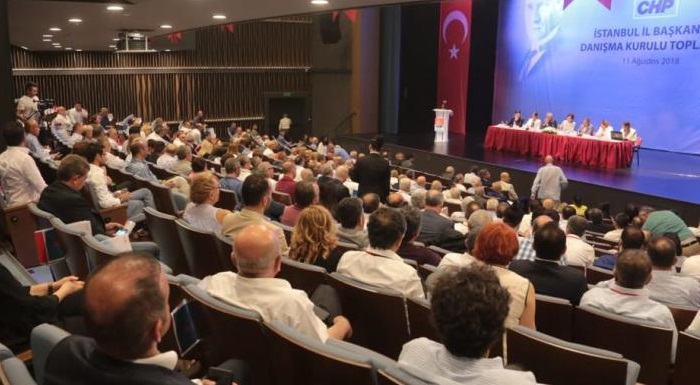 CHP İSTANBUL İL BAŞKANLIĞI DANIŞMA KURULU TOPLANTISI GERÇEKLEŞTİRİLDİ
