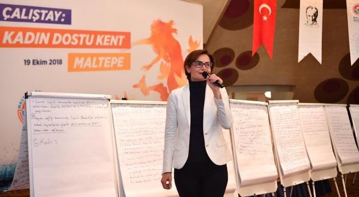 İl Başkanı Kaftancıoğlu Maltepeli kadınlarla buluştu