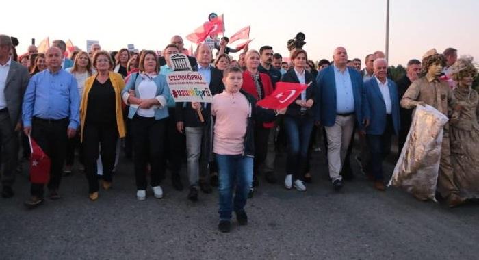 Kaftancıoğlu, 4.Uzunköprü Kültür,Sanat veTarım Festivaline katıldı
