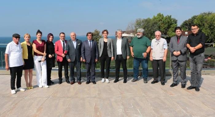 Dr.Canan Kaftancıoğlu,Ordu'lu Basın Derneği Yöneticeleri ile buluştu
