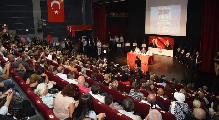 """Kaftancıoğlu: """"1980 darbesinden sonra ne yaşandıysa bugün de aynılarını yaşıyoruz"""""""