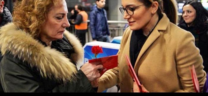 CHP İstanbul Kadın Kolları, tüm siyasi partilerdeki kadın siyasetçilere 25 Kasım'da buluşma çağrısı yaptı