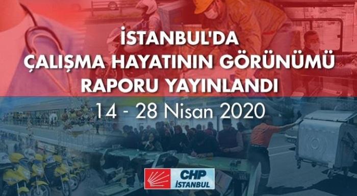 İstanbul'da Her 4 Çalışandan 1'i İşsiz Kaldı