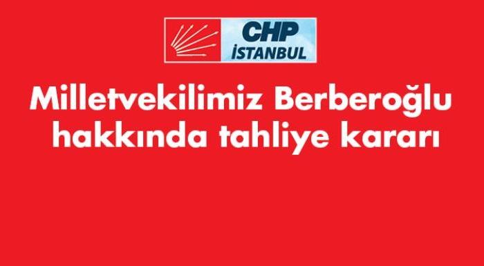İl Başkanı Kaftancıoğlu'ndan Berberoğlu Kararı Hakkında Açıklama