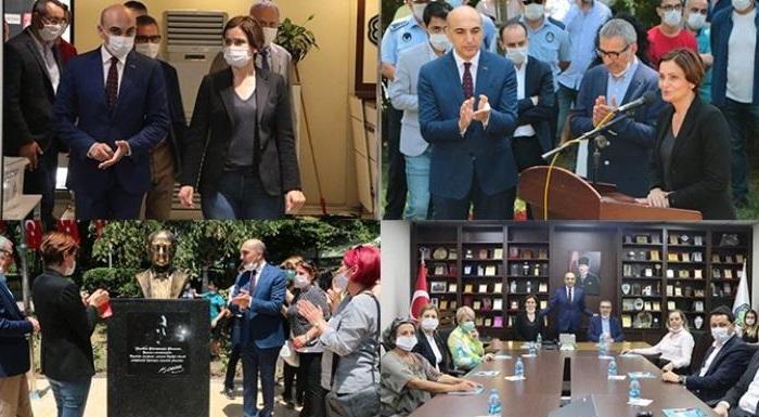 İl Başkanı Kaftancıoğlu, Bakırköy Belediyesi'ni Ziyaret Etti