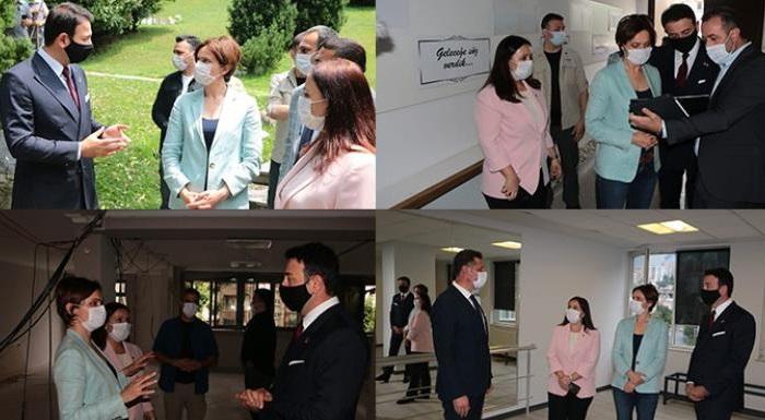 İl Başkanı Kaftancıoğlu, Beşiktaş Belediyesi'ni Ziyaret Etti
