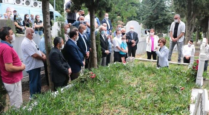 Geçmiş Dönem Beyoğlu İlçe Başkanı Bülent Demir Mezarı Başında Anıldı