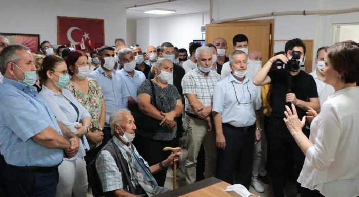 İl Başkanı Kaftancıoğlu Çatalca'da İlçe Örgütü ve Muhtarlarla Buluştu