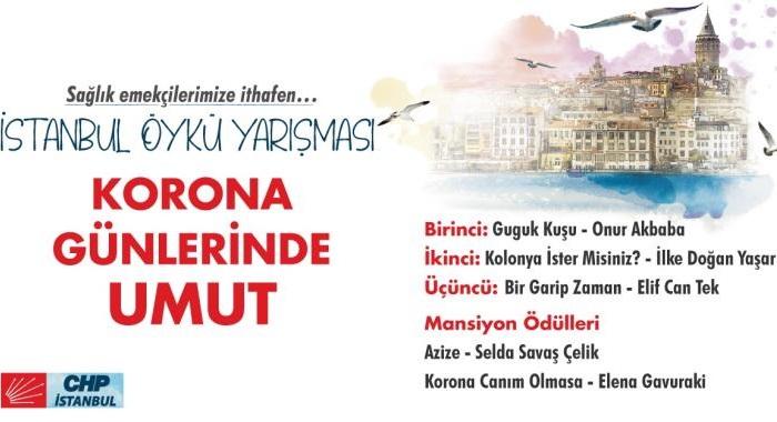 """""""Korona Günlerinde Umut"""" konulu öykü yarışması sonuçları açıklandı"""