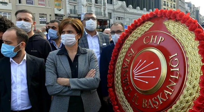 İl Başkanımız Kaftancıoğlu, Tören Alanından Ayrılmasının Nedenini Açıkladı