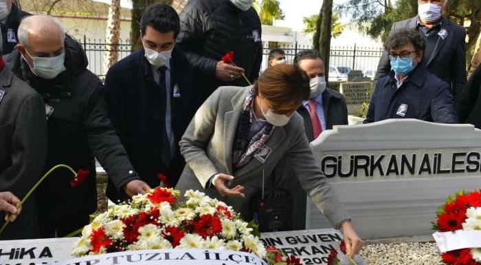 SHP Kurucu Genel Başkanı Aydın Güven Gürkan Mezarı Başında Anıldı