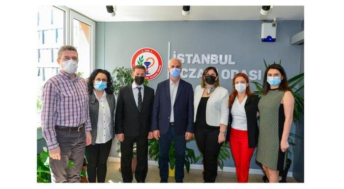 İstanbul Eczacı Odasına Ziyaret Düzenlendi
