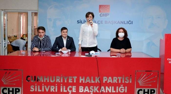 CHP'Lİ KAFTANCIOĞLU'NDAN İSTANBUL'UN SİLİVRİ İLÇESİNE ZİYARET
