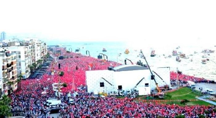 "İZMİR'DE TARİHİ MİTİNG - İZMİR REKORLA ""İNCE"" DEDİ"