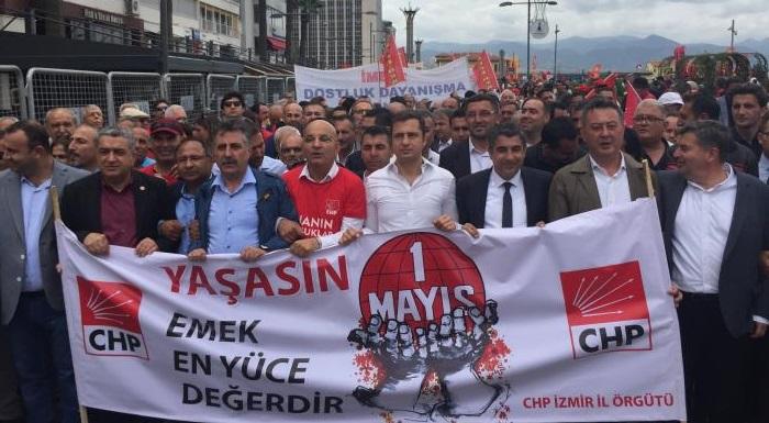 YAŞASIN 1 MAYIS - CHP İZMİR'DEN 1 MAYIS'A DAMGA VURAN KATILIM