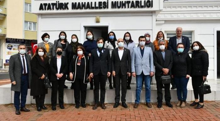 AKP Kendi Girdabının Dibine Doğru Batıyor  - Yücel ve Polat Esnaf ve Kadın Muhtarlarla Buluştu