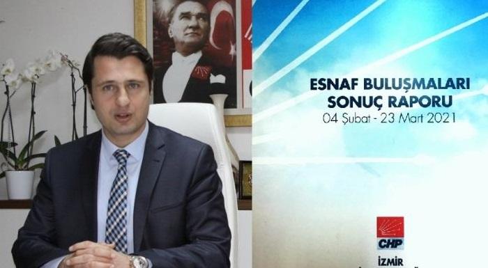 CHP İzmir'den Esnaf Raporu - Yücel: AKP Esnafı Cezalandırıyor.