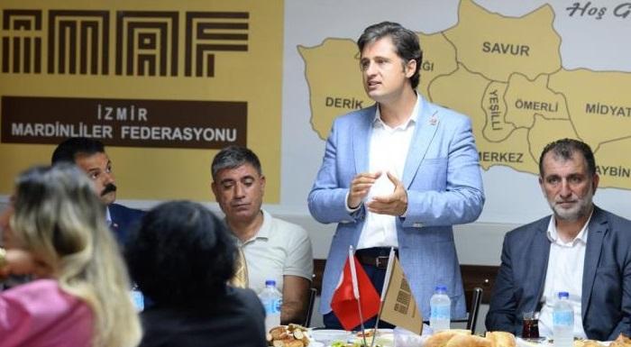"""Yücel Mardinliler Federasyonu'nun Düzenlediği Kahvaltıda Konuştu - """"Sandık gelecek AKP Gidecek"""""""