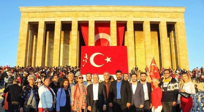 Cumhuriyetimizin 96. Yılı Başkent Ankara'da Coşkuyla Kutlandı