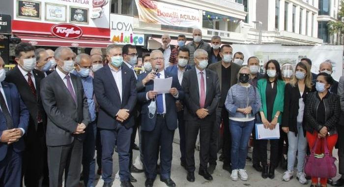 Genel Başkanımız Sayın Kemal Kılıçdaroğlu'nun Esnaflar için önerdiği 17 maddelik çözüm önerisine ilişkin 81 ilde yapılan ortak basın açıklamamız