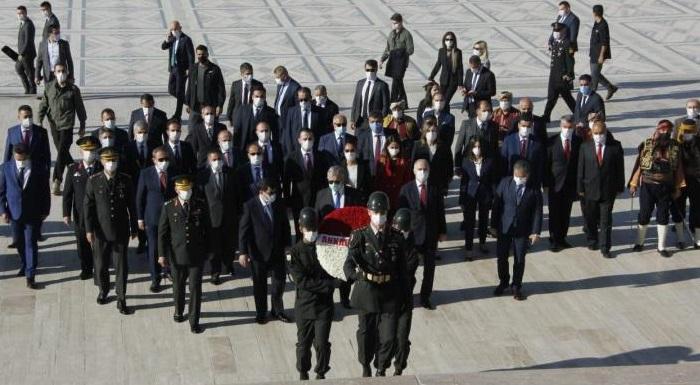 Ankara'nın Başkent Oluşu Kutlandı