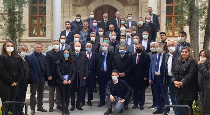 Şereflikoçhisar'da CHP Heyeti vatandaşlarla bir araya geldi