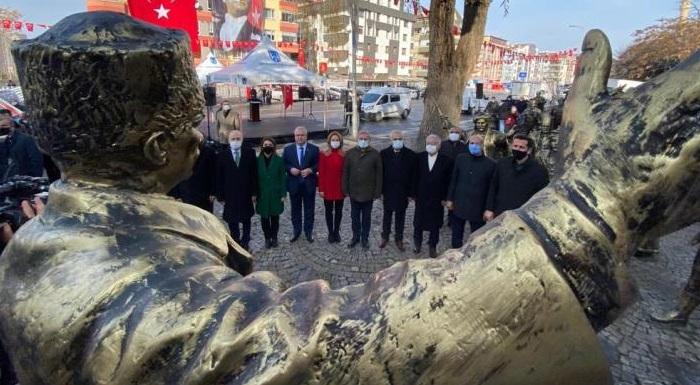 27 Aralık 2020, Atatürk'ün Ankara'ya Gelişinin 101. Yıl Dönümü