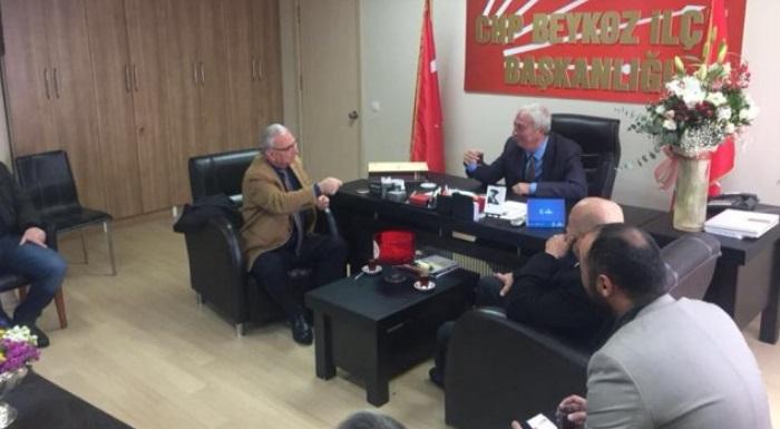 Muhtarlar Derneği'nden, CHP Beykoz'a Hayırlı Olsun Ziyareti