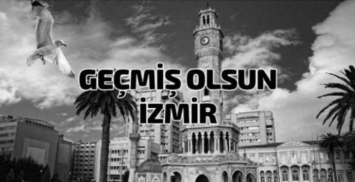 Geçmiş Olsun İzmir...