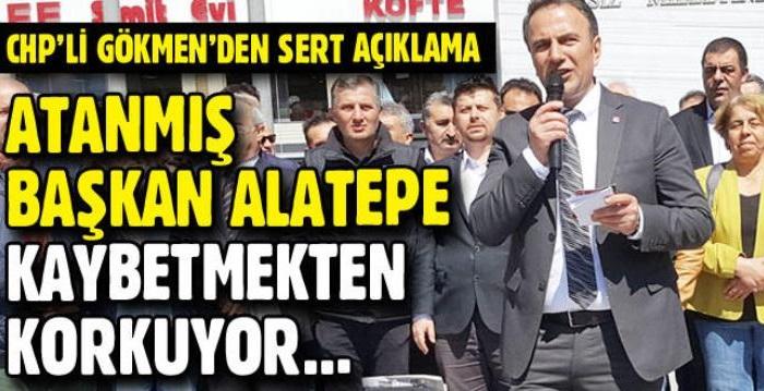 """CHP Esenyurt İlçe Başkanı Ali Gökmen, Esenyurt Belediye Başkanı Ali Murat Alatepe'nin """"Esenyurt'u kaybedersek İslam'ı kaybederiz"""" şeklindeki sözlerine..."""