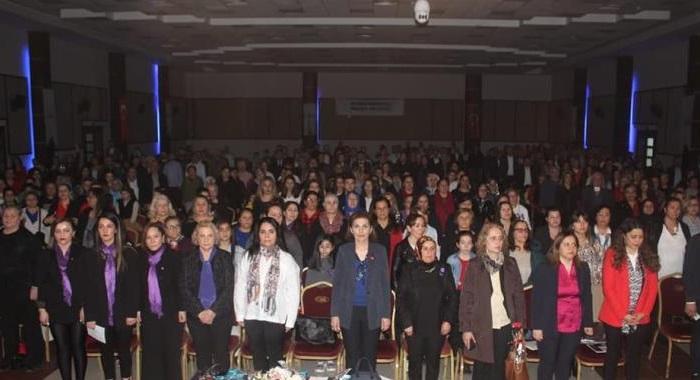 8 Mart Dünya Emekçi Kadınlar Günü Kapsamında Düzenlediğimiz Emekçi Kadınlar Günü Buluşması Halkımızın Büyük Bir İlgisiyle Gerçekleşti.