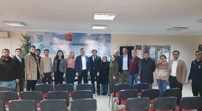 Belediye Başkanımız Sn.Kemal Deniz Bozkurt İlçe merkezimizi ziyaret etti.Nazik ziyaretlerinden dolayı Belediye Başkanımıza teşekkür ederiz.