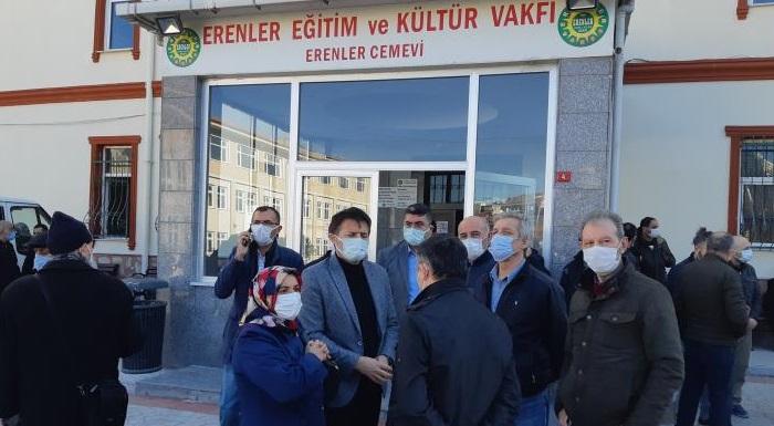 Değerli yol arkadaşımız Talatpaşa eski mahalle başkanımız, Malik Güreni Erenler Cem evinden son yolculuğuna uğurladık. Mekanı cennet olsun.