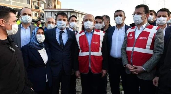 Genel Başkanımız Sn. Kemal Kılıçdaroğlu , İstanbul Büyükşehir Belediye Başkanımız Sn. Ekrem İmamoğlu , Esenyurt Belediye Başkanımız Sn. Kemal Deniz Bozkurt ve İlçe Başkanımız Hüseyin Ergin ile birlikte Akçaburgaz'daki kreşimizi ve Haramadire İski çalışmasını yerinde inceledik.