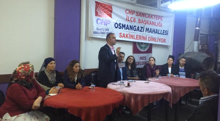 OSMANGAZİ MAHALLE TOPLANTISI